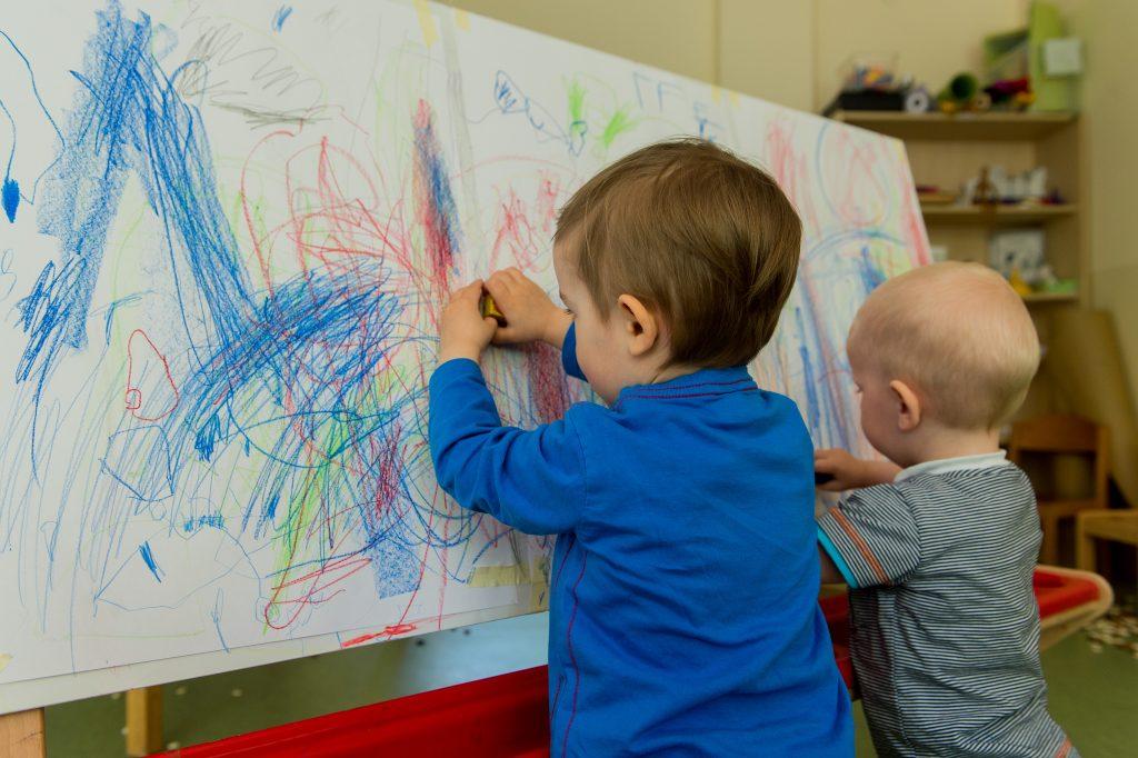 Malen in Kindertagesstätten