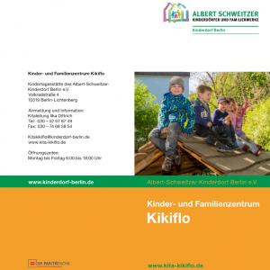 Flyer Familienzentrum Kikiflo