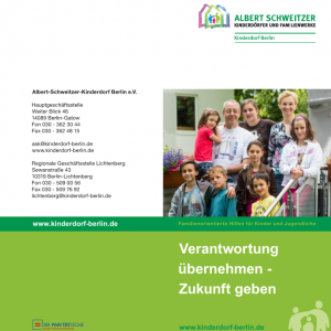 Spendenflyer Kinderdorf