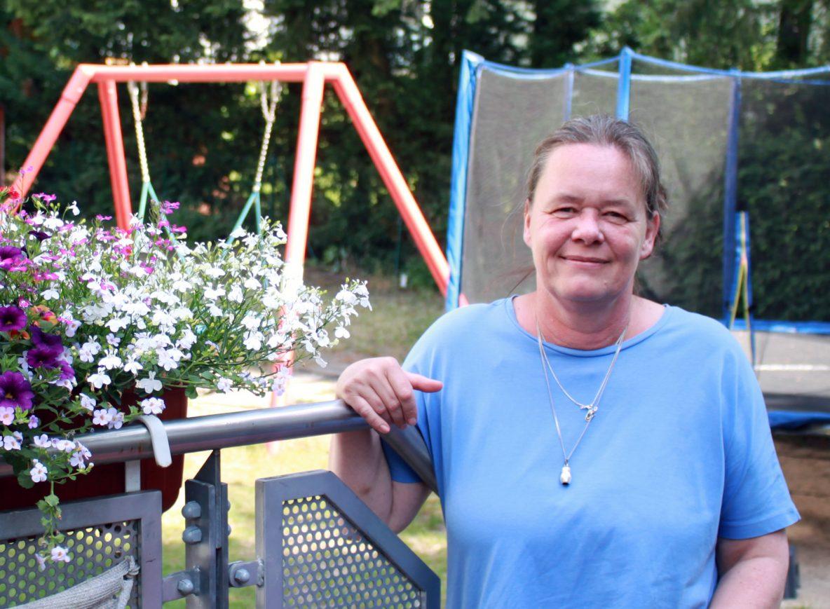 Katrin Holfeld arbeitet seit 25 Jahren beim Albert-Schweitzer-Kinderdorf Berlin e.V.